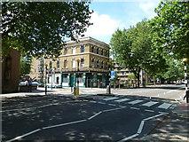 TQ3179 : Zebra crossing in Lambeth Road by Basher Eyre