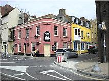 SY6778 : Weymouth-The Royal Oak by Ian Rob