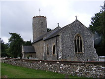 TG1807 : St.Andrews Church, Colney by Adrian Cable