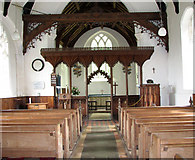 TG1508 : The church of SS Mary and Walstan in Bawburgh by Evelyn Simak