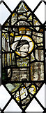 TG1508 : The church of SS Mary and Walstan in Bawburgh - medieval glass by Evelyn Simak