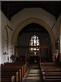 TG1807 : St. Andrew's Church Interior, Colney by Adrian Cable