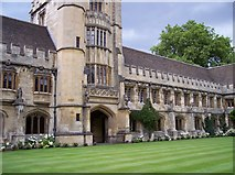 SP5206 : The Cloister at Magdalen College by Raymond Knapman