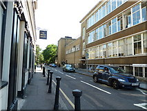 TQ3179 : Looking from St George's Road into King Edward Walk by Basher Eyre