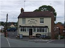 SO8483 : The Cross Inn at Kinver by Chris Whippet