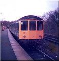 TQ2885 : A DMU waits at Gospel Oak Railway Station by nick macneill