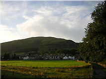 SD6592 : Sedbergh from the south, evening by Christopher Hilton