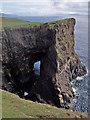 NG1839 : Natural arch (1) by Richard Dorrell