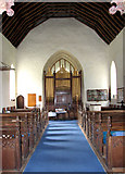TL7388 : The church of St James in Wilton - view west by Evelyn Simak
