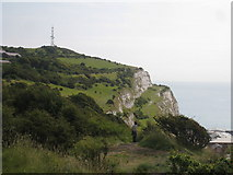 TR3341 : On the White Cliffs by Oast House Archive