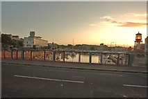 SY6778 : Weymouth: On the Town Bridge at Sunset by Mr Eugene Birchall