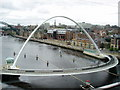 NZ2563 : Millennium Bridge, Tyne & Wear by Graham Hogg