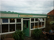 NZ8612 : The Wits End cafe by Ian S