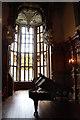 SK8932 : Great Hall bay window by Richard Croft
