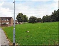 SJ8796 : Behind Abbotsbury Close by Gerald England