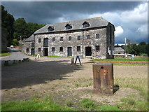 SX4268 : Old warehouse at Cotehele Quay by Rod Allday