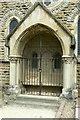 SK5646 : Memorial alcove by Alan Murray-Rust