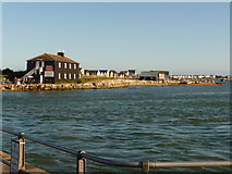 SZ1891 : Mudeford: Mudeford Spit and the Black House by Chris Downer