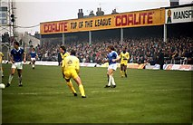 SK3771 : Saltergate - The former home of Chesterfield FC by Steve Daniels