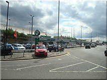 NZ2463 : Benfield Skoda car dealership, Newcastle upon Tyne by Stacey Harris