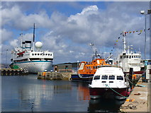 HU4741 : Lifeboat Pier, Lerwick by Colin Smith
