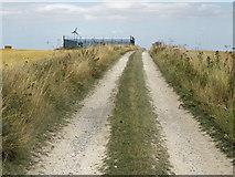 TA0114 : The Barton Road Public Footpath by David Wright