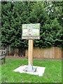 TM4489 : Village Sign at Worlingham, Suffolk by Adrian S Pye