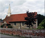 TL8928 : St Barnabas Church, Chappel, Essex. by Peter Stack