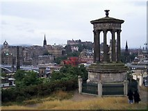 NT2674 : Monument, Calton Hill, Edinburgh by Graham Hogg
