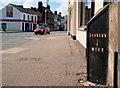 J2764 : Milepost, Seymour Street, Lisburn (2) by Albert Bridge
