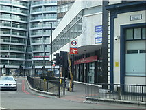 TQ3282 : Subway entrance to Old Street underground station by Stacey Harris