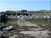 NX4736 : Isle of Whithorn Harbour by Andy Farrington