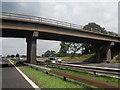 SJ7663 : Bridge over the M6 - Bradwall Green by Anthony Parkes