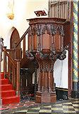 TQ2879 : St Paul, Wilton Place, London SW1 - Pulpit by John Salmon