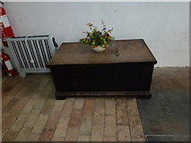 TM4369 : Inside St Peter, Westleton: church chest by Basher Eyre