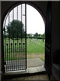 TM4160 : St Mary Magdalene , Friston: view from the porch by Basher Eyre