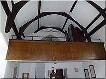 TM4160 : St Mary Magdalene , Friston: balcony by Basher Eyre