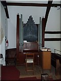 TM4160 : St Mary Magdalene, Friston: organ in the balcony by Basher Eyre