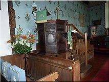 TM4160 : St Mary Magdalene, Friston: chancel by Basher Eyre