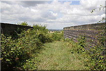 SK7528 : Bridleway on a bridge by Kate Jewell