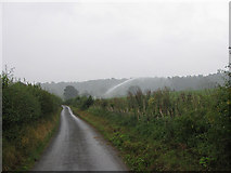 SO5628 : Irrigating crops in the rain by Pauline E