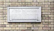 TQ2879 : St Peter, Eaton Square, London SW1 - Memorial by John Salmon