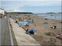 SH1726 : Aberdaron promenade and beach by David Gearing