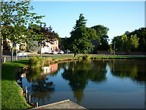 TA0816 : Wootton village pond by Ian S