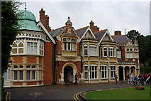 SP8633 : Bletchley Park Mansion by Mark Anderson