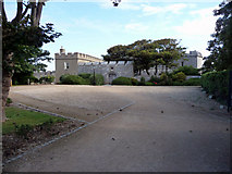 SY6874 : Portland Castle, Portland, Dorset by Christine Matthews