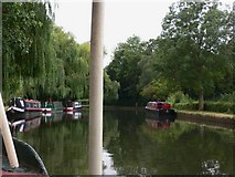SU9948 : The River Wey Navigation at Guildford by Shazz