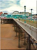 SD3036 : Blackpool: North Pier by Eugene Birchall