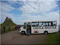 NU1341 : The Castle Shuttle, Holy Island (Lindisfarne), Lindisfarne by Richard West