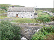 NC8957 : Converted mill now used as a bunkhouse by John Ferguson